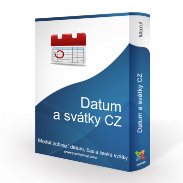 Date and holidays CZ (Joomla!)